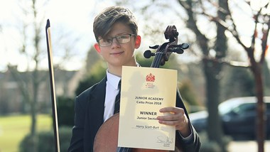 undefinedWinner of the Cello Prize
