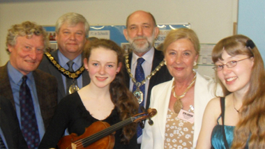 undefined2011 winner of the Herts County Music Service Award
